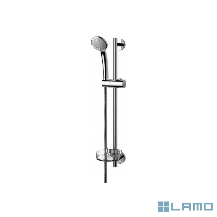 Is idealrain doucheset 60cm 3 stralen handdouche 8cm | B9503AA | LAMO