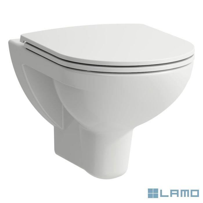 Laufen pro wandcloset rimless pack, slim seat softcl., wit, b36×d53×h34cm | H8669510000001 | LAMO