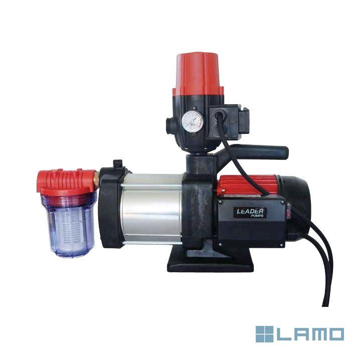 Leader regenwaterpomp inoxplus 230 met press control en filter (voordeelkit) | LP230KIT | LAMO