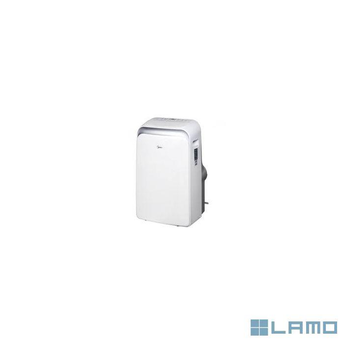 Midea mobiele airconditioner, 12000btu 3,52kw, a label mppd 12 crn1-qb6 | MOBIELE AIRCO | LAMO