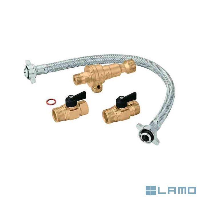 Caleffi vulset cb klep 1/2 m x 1/2 m promobox 7 st   PBOX300604-A   LAMO