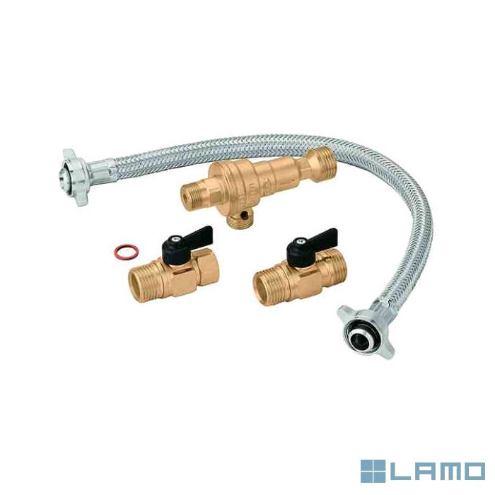 Caleffi vulset cb klep 1/2 m x 1/2 m promobox 25 st | PBOX300604-B | LAMO
